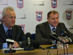 Paul Jewell is new ITFC boss