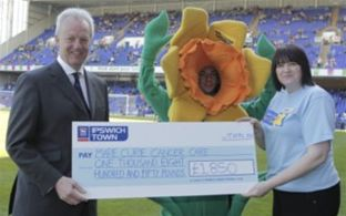 Almost £2,000 raised by ITFC supporters for charity