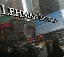 Collapse of Lehman Brothers helped to trigger the severe financial crisis