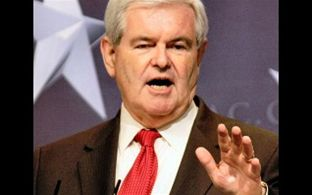White House aspirations for Gingrich