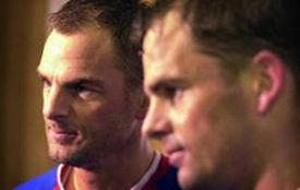 Genius in football today: Frank and Ronald de Boer at THG event