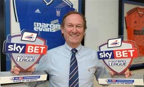 marcusevans Sky Bet Football League September awards!