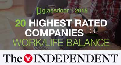 marcusevans marcus evans one of the 20 Highest Rated Companies for Work/Life Balance in UK!